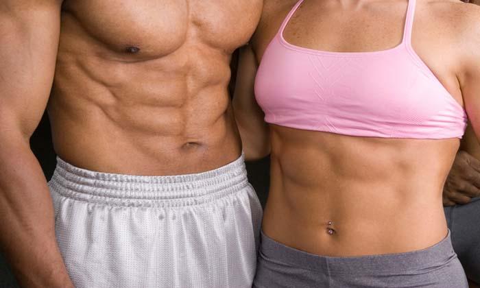 Pasos para marcar los abdominales